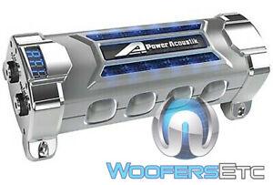 POWER ACOUSTIK PCX-5F 5-FARAD DIGITAL CAP STEREO SUBWOOFER AMPLIFIER CAPACITOR