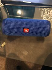 JBL Flip 4 Blue Portable Speaker System