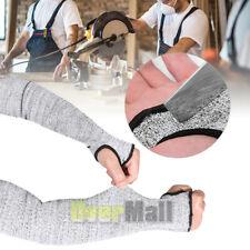2x Long Sleeves Safe Work Gloves Mechanics Welding Arm Protective Cut Resistant