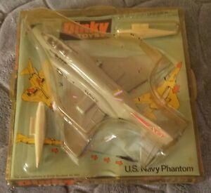 Vintage Dinky Toys Navy F-4 Phantom Jet Fighter Airplane Unopened #730