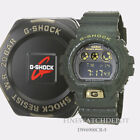 Authentic Casio G-Shock Men's Dark Green Crocodile Digital Watch DW6900CR-3
