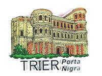 Trier Porta Nigra Germany Souvenir Magnet Rubber Kautschuk,flexibel,Neu