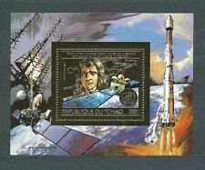 AFRIQUE TCHAD - 1982 ESPACE - 1500 f or - PA / AIR MAIL - NEUF** MNH LUXE