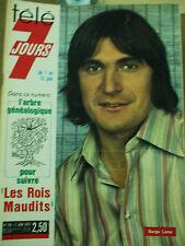 tele 7 jours serge lama 7 juin 1975 n°786
