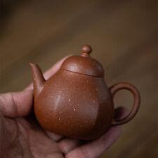 on sales handmade tea pot one infuser hole original ore old zhu clay yixing pot