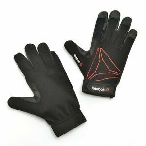 Reebok Full Finger Functional Gloves Weight Lifting Training Gym Wrist Strap