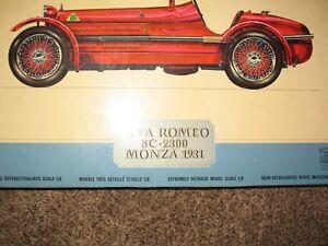 ALFA ROMEO 8C 2300 MONZA 1931 1/8 Scale ART K171