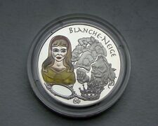 Francia 1 1/2 euro 2002 plata-Blanca Nieves