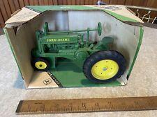 Vintage JOHN DEERE Model A Die-Cast Metal Tractor 1:16 Scale ERTL With Box