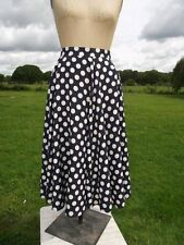 Polyester Rockabilly 1990s Vintage Skirts for Women