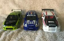 Lot of 3 1:24 cars, MOTOR MAX Civic Si, Mitsubishi Eclipse, Subaru Impreza WRX