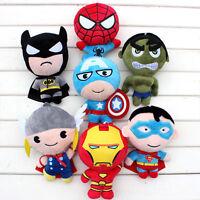 The Avengers Super Heroes Iron Man Batman Soft Stuffed  Plush Toy Gift EndGame