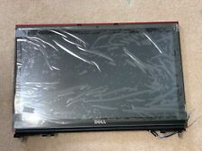 """New listing Dell Precision M6800 17.3"""" Fhd Lcd Screen Display Lvds Touchscreen Assembly Red"""