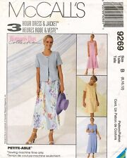 McCall's Misses' Dress and Jacket Pattern 9269 Size 8-12 UNCUT