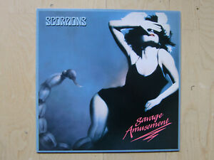 SCORPIONS: Savage Amusement original Vinyl LP