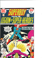 Superboy and the Legion of Superheroes no. 199, DC, 1973, F/VF.