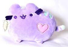 "GUND Pusheen Pastel Purple Heart Plush 6"" Cat Stuffed Toy Animal 4048874 >NEW<"
