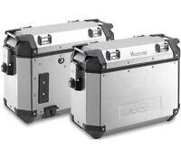 Kappa K-Venture Aluminum Monokey 37 Liter Side Cases (LEFT & RIGHT) - PAIR