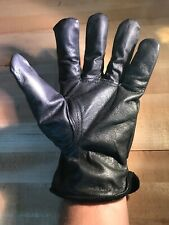 Lot Of 12 Xl Top Quality Leather Work Gloves Black