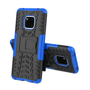 For Huawei P30 Pro 8X P20 Mate 20 PSmart Armor Shockproof Heavy Case Stand Cover