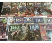 Thor God of Thunder #s 3 7 9 10 11 12 13 14 15 16 17 18 21 22 23 24 NM 9.4-9.8