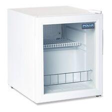 Polar White Compact Counter Top Display Fridge 46 Litre Ltr - DM071 Commercial