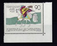 Liechtenstein 1990 postfrisch MiNr. 1004  500 Vahre Postverbindungen in Europa