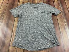 Imperial Black Label Men's Gray Short Sleeve Pocket T-Shirt - Medium