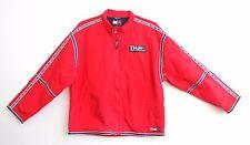 Vintage 90's Tommy Hilfiger Red Windbreaker Hip Hop Streetwear Medium Zip Up M