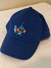 Pokemon 2015 State Regionals Championship Hat Baseball Cap Mudkip Blue NEW
