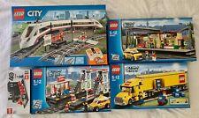 BRAND NEW & SEALED - LEGO City RARE Trains & Trucks 60051 60050 7937 3221 40370