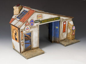King & Country SP051 Normandy Garage MIB