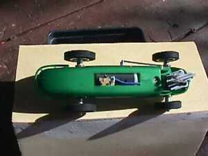 Strombecker 1/32 scale Indy type slot car