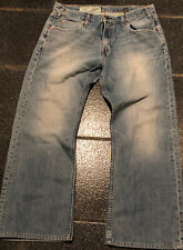Great MEN'S HOLLISTER VTG BOOT CUT Medium Wash Blue JEANS sz 36x32 hco