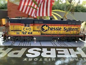 Chessie System C&O GP7 5744 w/ ESU Loksound Walthers Proto