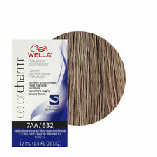 Wella Color Charm 7AA Medium Blonde Intense Ash Permanent Hair Colour Dye