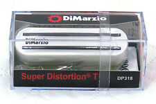 DIMARZIO DP318 Super Distortion T Tele Electric Guitar Pickup - WHITE
