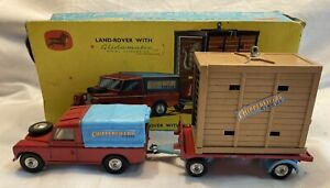 Corgi Chipperfields Land Rover and Elephant Cage