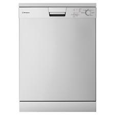 Stainless steel freestanding dishwasher