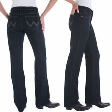 Wrangler Mid Rise Machine Washable Jeans for Women