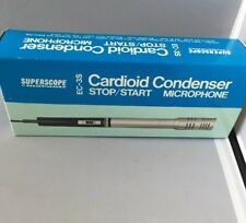 Vintage Cardioid Condenser (32) EC-3S Stop/Start Microphone (BP) Superscope