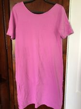 Lands End Ladies Women's Purple Dress Coverup Size Large 14-16 FREE SHIPPING