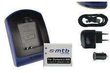 Baterìa+Cargador (USB) Li-90B para Olympus Traveller SH-50, 60 / Creator XZ-2