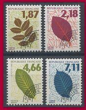 1996 FRANCE PREOBLITERES N°236/239**, Feuilles d´arbres, TTB, MNH