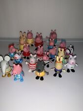Peppa Pig  and Friends Lot Of 20 figures And House