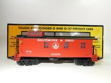 MTH O Gauge Baltimore & Ohio Wood Sided Caboose #30-7723 C#170