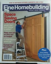Fine Homebuilding Jan 2014 Space Saving Doors Kitchen Cabinets FREE SHIPPING sb