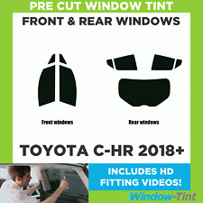 Pre Cut Window Tint - Toyota C-HR 2018+ - Full Kit