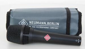 Neumann KMS 104 BK Plus Solisten Kondensator Mikrofon optimiert f. weibl. Stimme