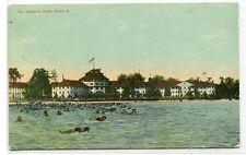 The Breakers Hotels from Lake Cedar Point Ohio 1911 postcard